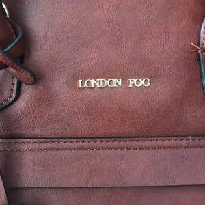 London Fog Bags - London Fog expresso handbag